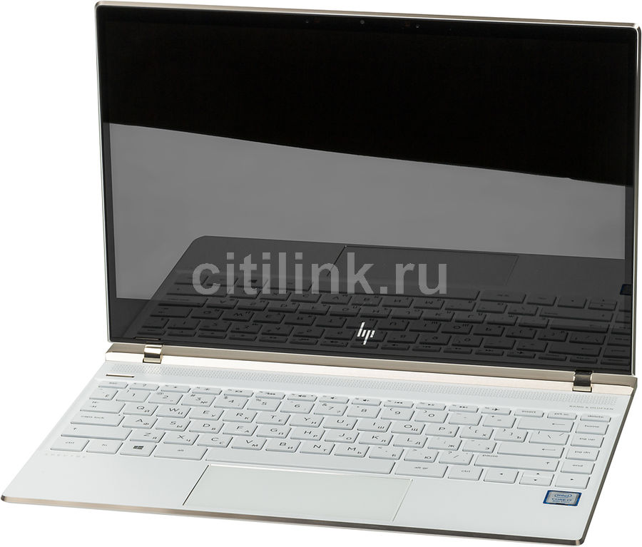 Ноутбук HP Spectre 13-af009ur, 13.3, Intel Core i7 8550U 1.8ГГц, 16Гб, 1Тб SSD, Intel HD Graphics 620, Windows 10, 2PT12EA, белый new intel core i3 7100u i5 7200u fanless intel skylake mini pc intel hd graphics 620 4k hdmi vga usb3 0 sd card desktop computer