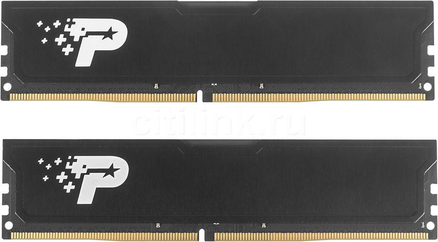 Модуль памяти PATRIOT PSD48G2400KH DDR4 -  2x 4Гб 2400, DIMM,  Ret