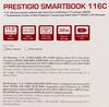 """Ноутбук Prestigio SmartBook 116C Atom X5 Z8350/2Gb/SSD32Gb/400/11.6""""/IPS/HD/W10H/w (отремонтированный) вид 17"""