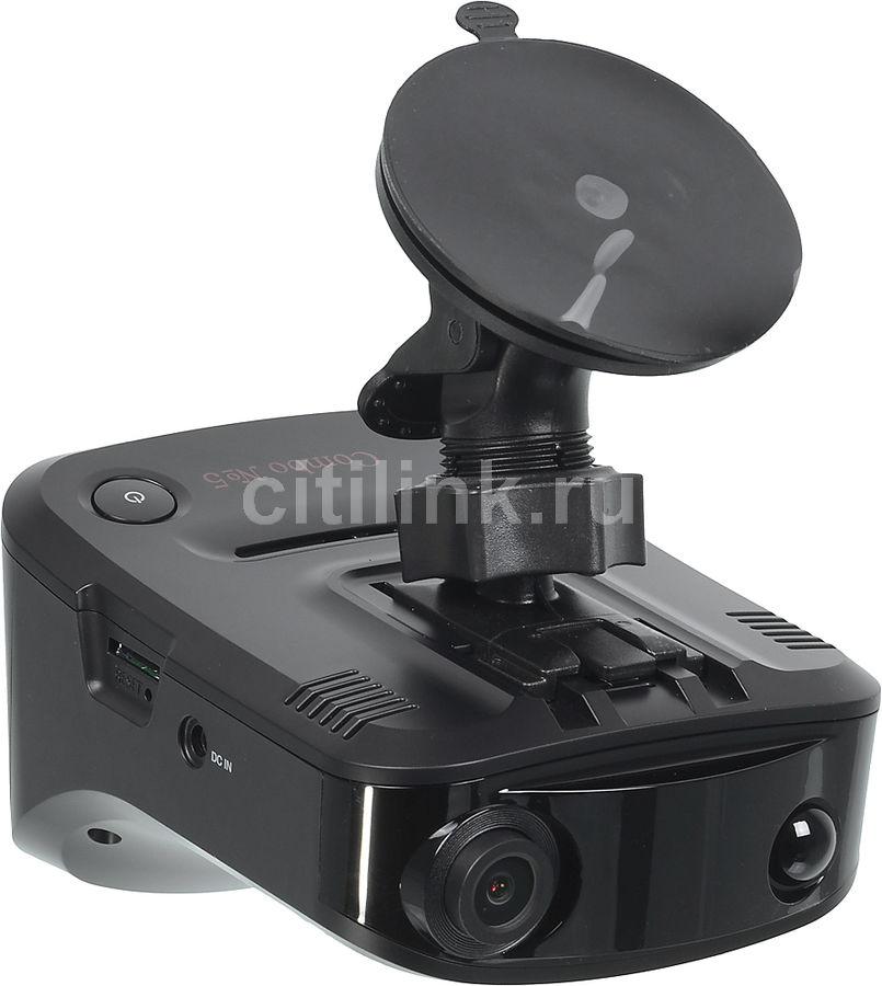 Видеорегистратор с радар-детектором Sho-Me Combo №1 SIGNATURE GPS ГЛОНАС черный
