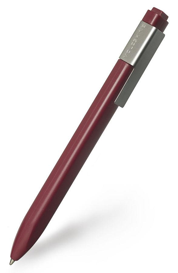 Ручка шариковая Moleskine CLASSIC CLICK (EW41BF710) авт. 1мм прямоугол. бордовый черные чернила блис