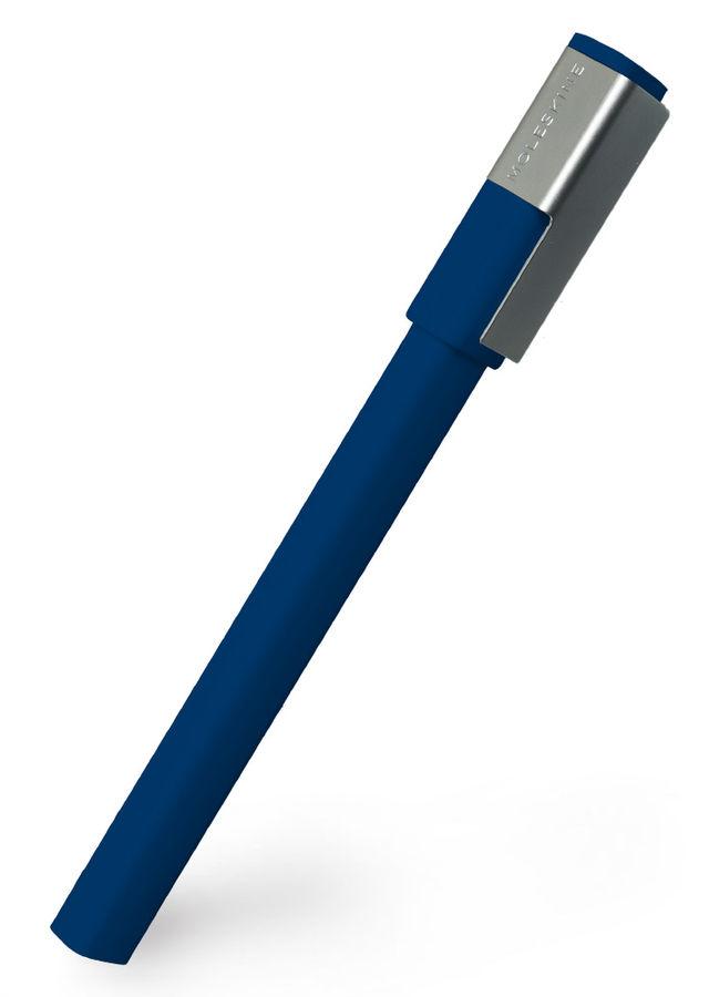 Ручка-роллер Moleskine CLASSIC PLUS (EW61RB1107) 0.7мм прямоугол. темно-синий черные чернила блистер