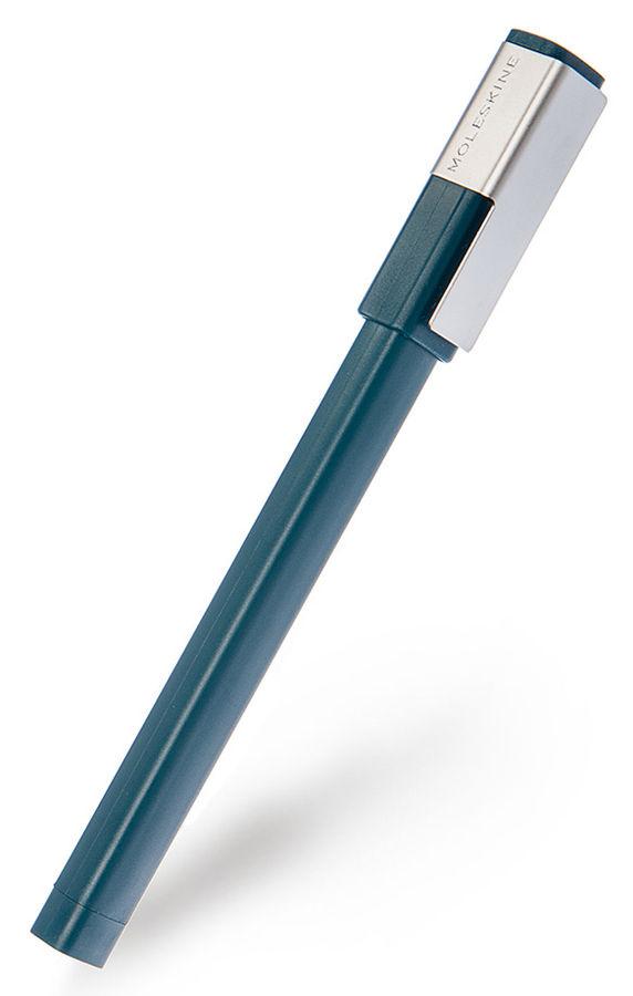 Ручка-роллер Moleskine CLASSIC PLUS (EW51RK707) 0.7мм прямоугол. темно-зеленый черные чернила блисте