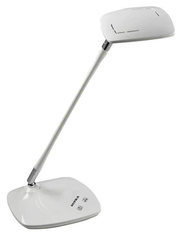 Светильник настольный SUPRA SL-TL323 на подставке,  5Вт,  белый [7813]