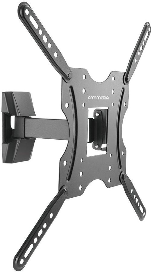 "Кронштейн для телевизора Arm Media LCD-403 черный 26""-55"" макс.30кг настенный поворот и наклон"