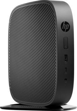 Тонкий клиент  HP Flexible t530,  AMD  GX-215JJ,  DDR4 4Гб, 16Гб(SSD),  AMD Radeon R2E,  HP ThinPro,  черный [y5x64ea]