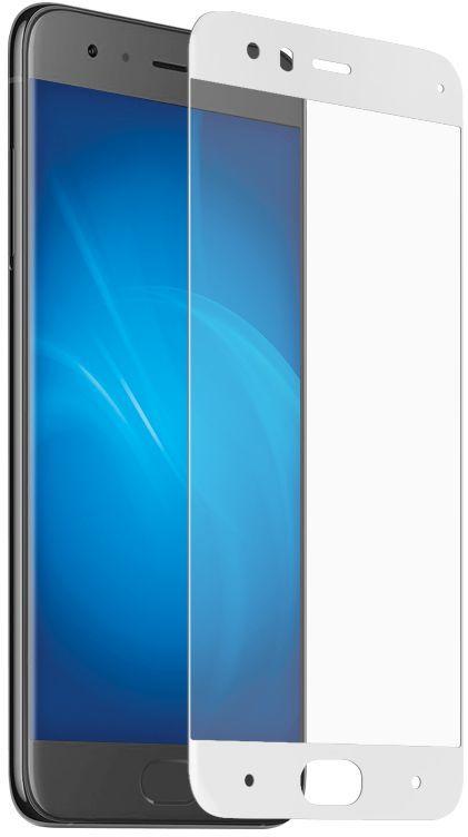 Защитное стекло DF xiColor-14  для Xiaomi Mi 6,  1 шт, белый [df xicolor-14 (white)]