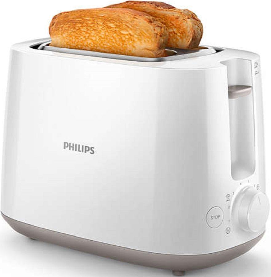 Тостер PHILIPS HD2581/00,  белый