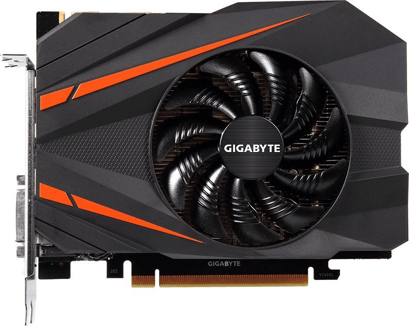 Видеокарта GIGABYTE nVidia  GeForce GTX 1080 ,  GV-N1080IX-8GD,  8Гб, GDDR5X, OC,  Ret