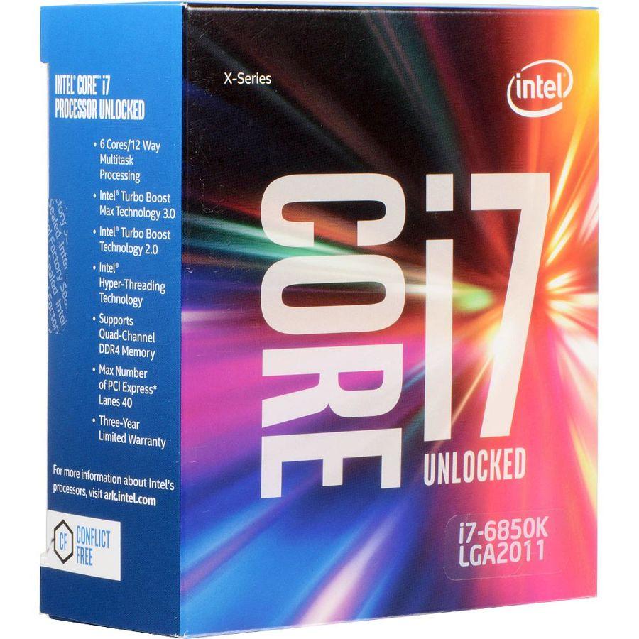 Процессор INTEL Core i7 6850K, LGA 2011-v3 * BOX [bx80671i76850k s r2pc]