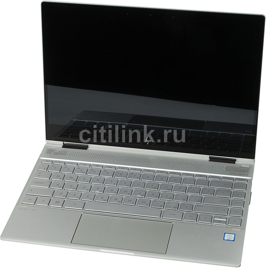"Ультрабук-трансформер HP Spectre x360 13-ae010ur, 13.3"",  IPS, Intel  Core i7  8550U 1.8ГГц, 8Гб, 256Гб SSD,  Intel UHD Graphics  620, Windows 10, 2VZ70EA,  серебристый"