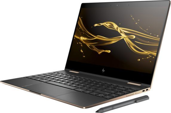 Ноутбук HP Spectre x360 13-ae011ur, 13.3, Intel Core i7 8550U 1.8ГГц, 16Гб, 512Гб SSD, Intel HD Graphics 620, Windows 10, 2VZ71EA, темно-серебристыйНоутбуки<br>экран: 13.3; cенсорный экран; разрешение экрана: 1920х1080; тип матрицы: IPS; процессор: Intel Core i7 8550U; частота: 1.8 ГГц (4.0 ГГц, в режиме Turbo); память: 16384 Мб, LPDDR3, 2133 МГц; SSD: 512 Гб; Intel HD Graphics 620; WiFi;  Bluetooth;  WEB-камера; Windows 10<br><br>Линейка: Spectre x360