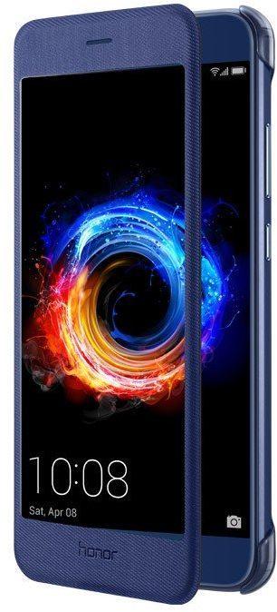 Чехол (флип-кейс) HONOR Viev Cover, для Huawei Honor 8 Pro, синий [51991952]
