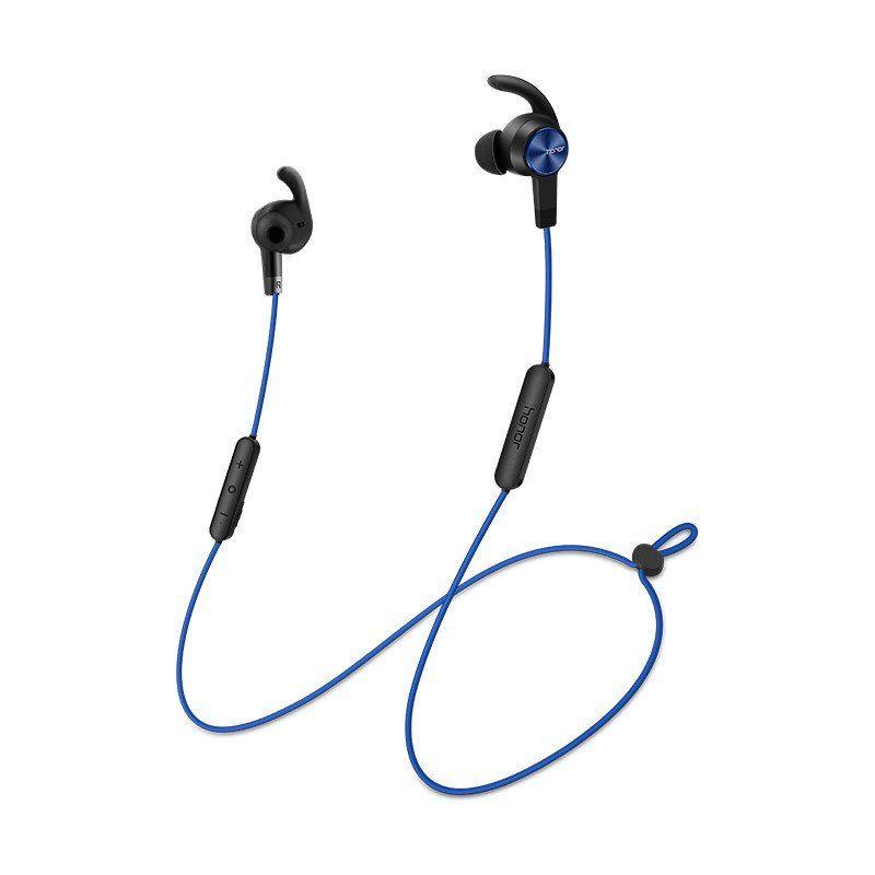 Наушники с микрофоном HONOR Sport AM61, Bluetooth, вкладыши, синий [02452484]