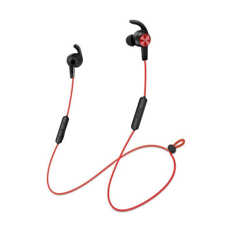 Наушники с микрофоном HONOR Sport AM61, Bluetooth, вкладыши, красный [02452483]