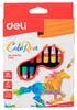 Масляная пастель Deli ColoRun EC20210 18цв. картон.кор./европод.