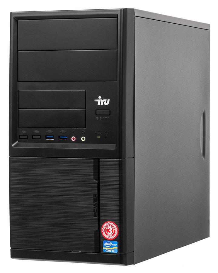 Компьютер  IRU Office 110,  Intel  Celeron  J3355,  DDR3 4Гб, 500Гб,  Intel HD Graphics 500,  Windows 10 Professional,  черный [1005581]
