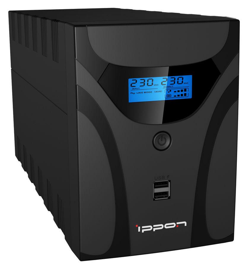 Источник бесперебойного питания IPPON Smart Power Pro II 1600,  1600ВA [1005588]