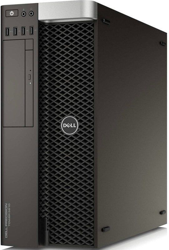 цена на Рабочая станция DELL Precision T5810, Intel Xeon E5-1620 v4, DDR4 16Гб, 2Тб + 2Тб, DVD-RW, Windows 7 Professional, черный [5810-4537]
