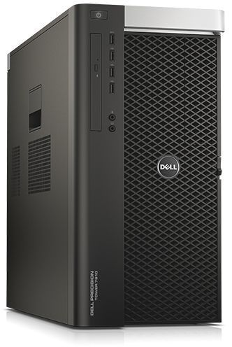 цена на Рабочая станция DELL Precision T7910, Intel Xeon E5-2620 v4, DDR4 32Гб, 2Тб, 256Гб(SSD), DVD-RW, Windows 7 Professional, черный [7910-4605]
