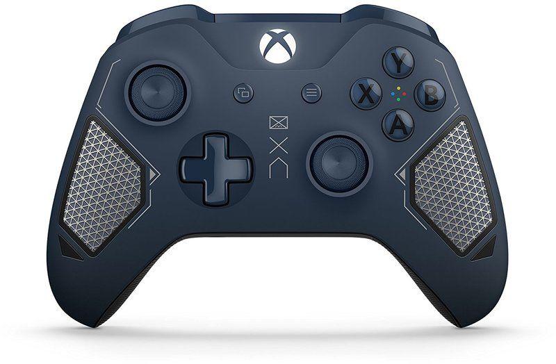 Геймпад Беспроводной MICROSOFT Patrol Tech, для  Xbox One, синий [wl3-00073]
