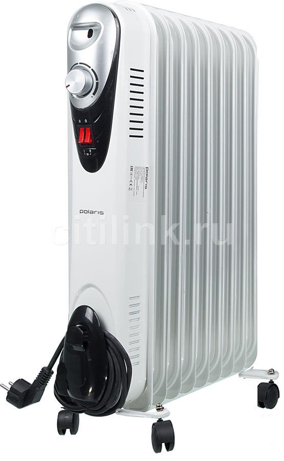 Масляный радиатор POLARIS Compact CR C 0920, 2000Вт, белый