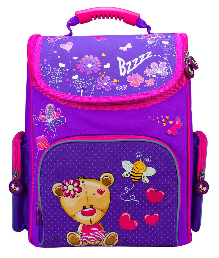 Ранец Silwerhof Bear фиолетовый/малиновый