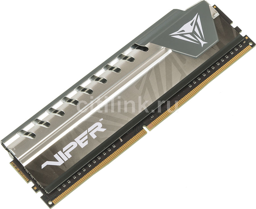 Модуль памяти PATRIOT Viper Elite PVE44G213C4GY DDR4 -  4Гб 2133, DIMM,  Ret