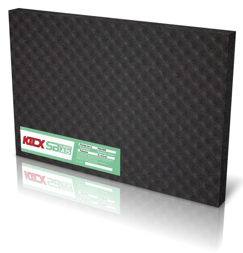 Уплотнительный материал Kicx SB A15Light (компл.:1шт) 1000x750x15мм