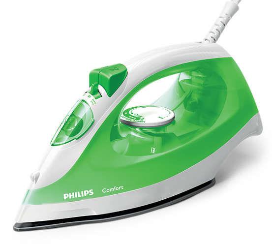 Утюг PHILIPS GC1441/70,  2000Вт,  зеленый/ белый