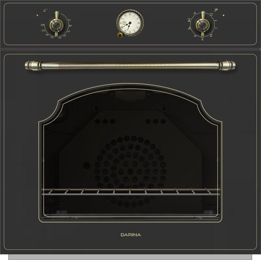 Духовой шкаф DARINA 1V8 BDE 111 707 B,  черный