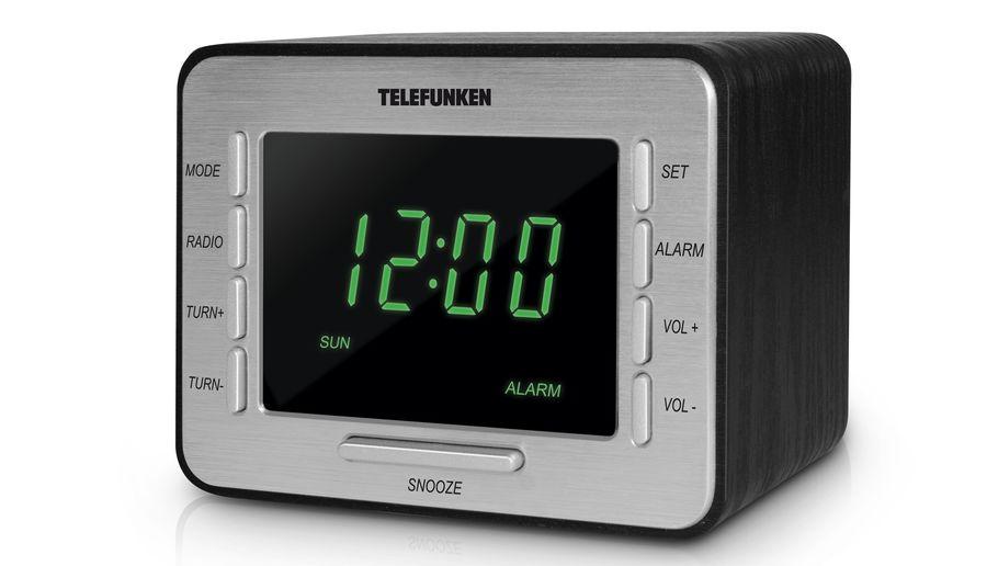 Радиоприемник TELEFUNKEN TF-1508,  черный