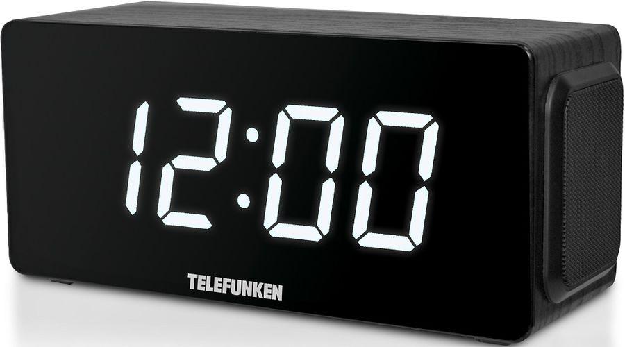 Радиоприемник TELEFUNKEN TF-1566,  черное дерево