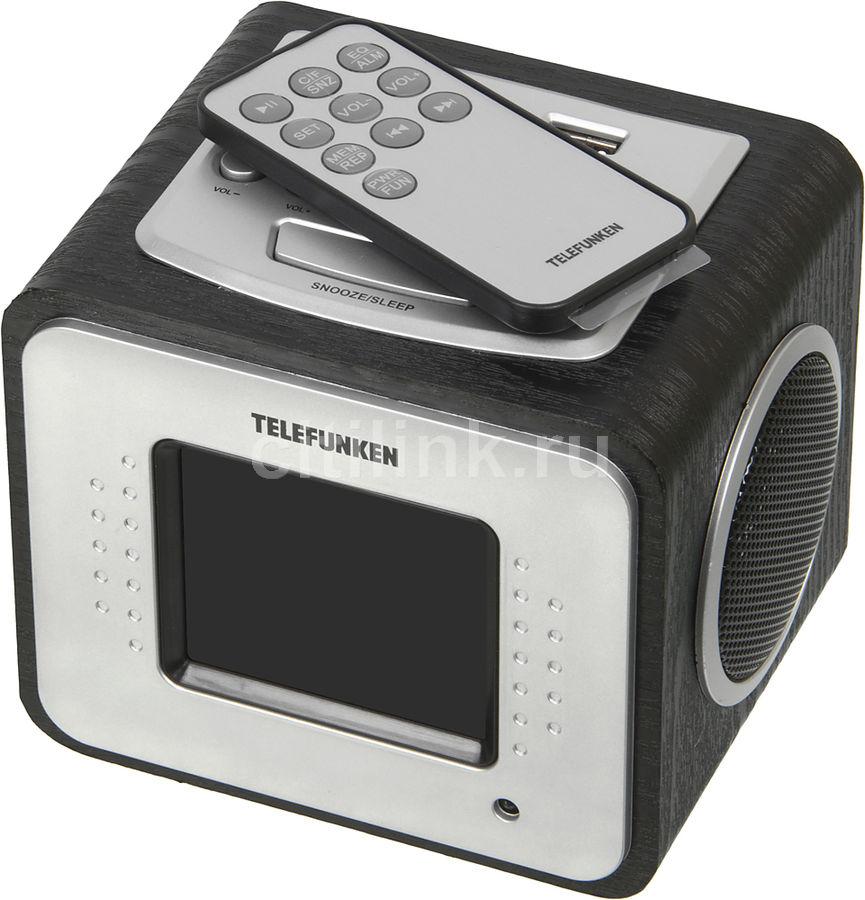 Радиоприемник TELEFUNKEN TF-1575,  черное дерево