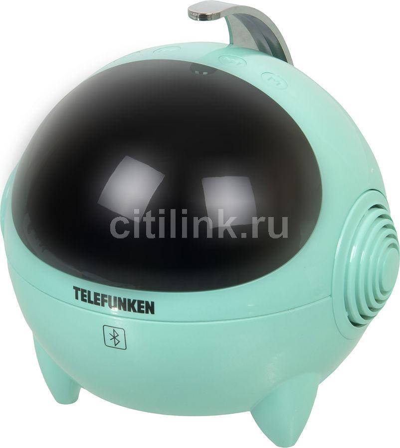 Радиоприемник TELEFUNKEN TF-1634,  мятный