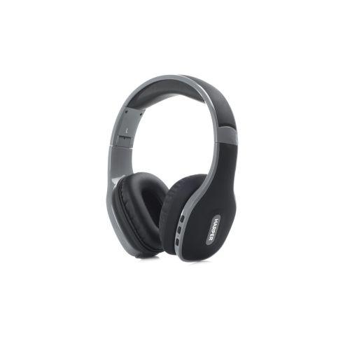 Наушники с микрофоном HARPER HB-401, 3.5 мм/Bluetooth, накладные, черный [h00000461]