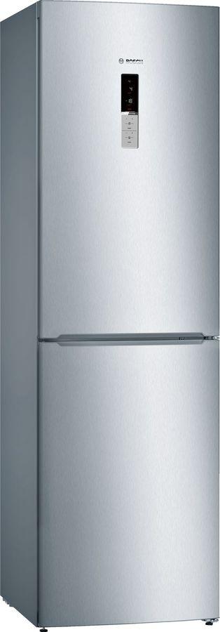 Холодильник BOSCH KGN39VL17R,  двухкамерный, нержавеющая сталь