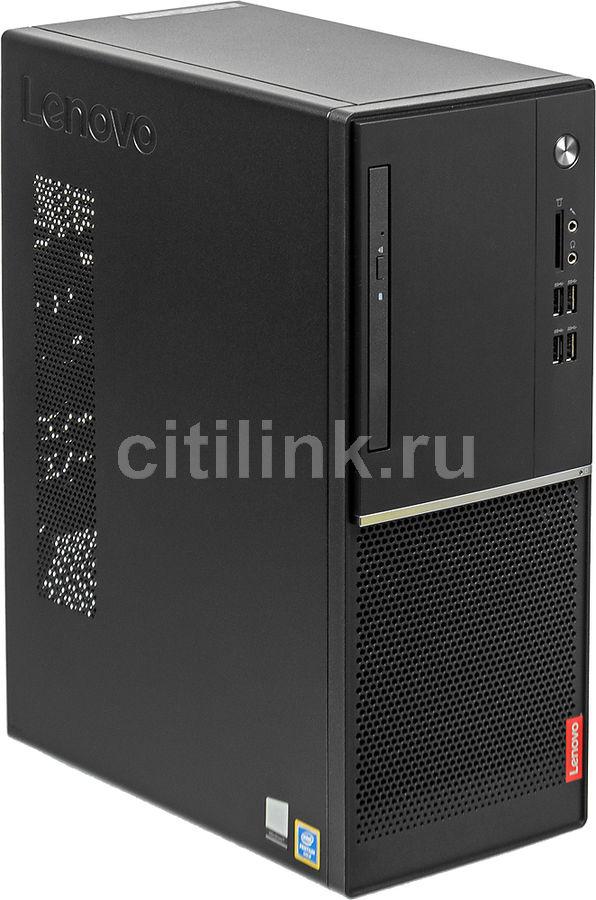 Компьютер  LENOVO V520-15IKL,  Intel  Pentium  G4560,  DDR4 4Гб, 1000Гб,  Intel HD Graphics 610,  DVD-RW,  Windows 10 Home,  черный [10nk004xru]