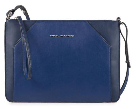 f71a29923e3a Купить клатч женский Piquadro Muse AC4329MUS/BLU синий натур.кожа в ...