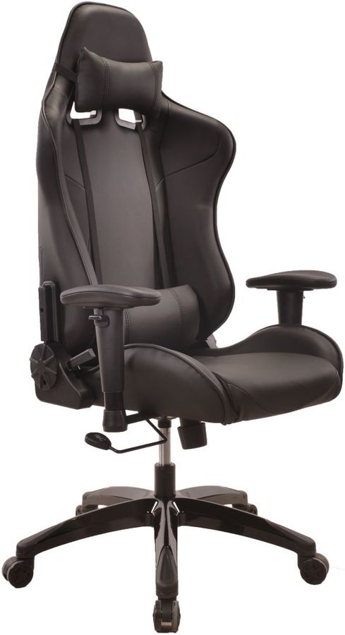Кресло игровое БЮРОКРАТ CH-775, на колесиках, искусственная кожа [ch-775/black]