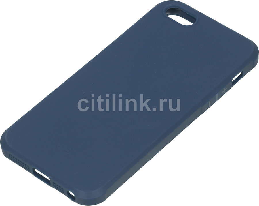 Чехол (клип-кейс) REDLINE Extreme, для Apple iPhone 5/5s/SE, синий [ут000012543]