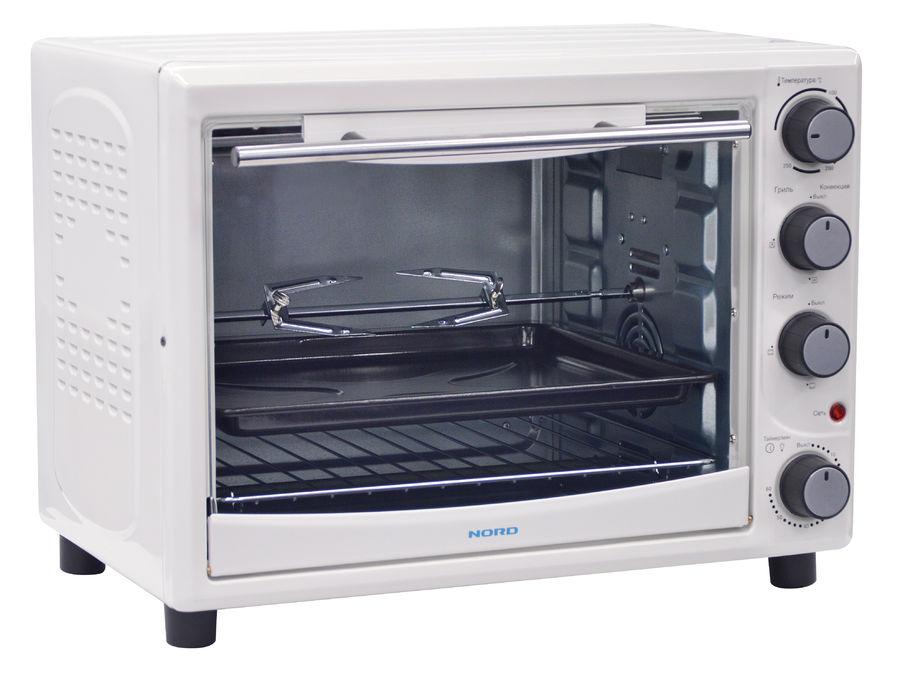 Мини-печь Nord EO 35 W TC 35л. 1500Вт белый (мех. повреждения)