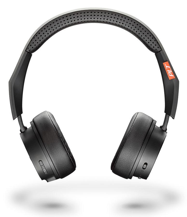 Наушники с микрофоном PLANTRONICS BackBeat Fit 505, Bluetooth, накладные, черный [210704-99]