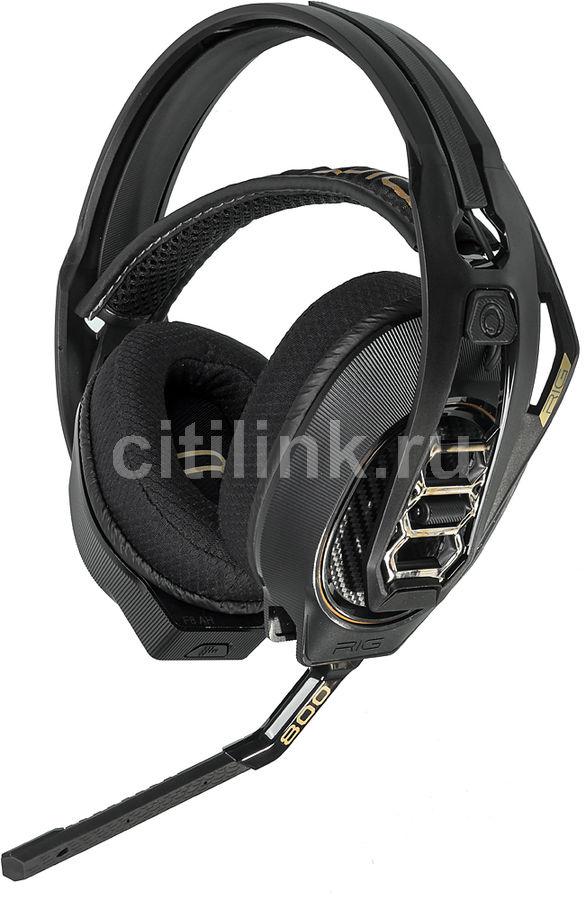 Гарнитура PLANTRONICS RIG 800HD, накладные,  черный, беспроводные радио [206800-05]