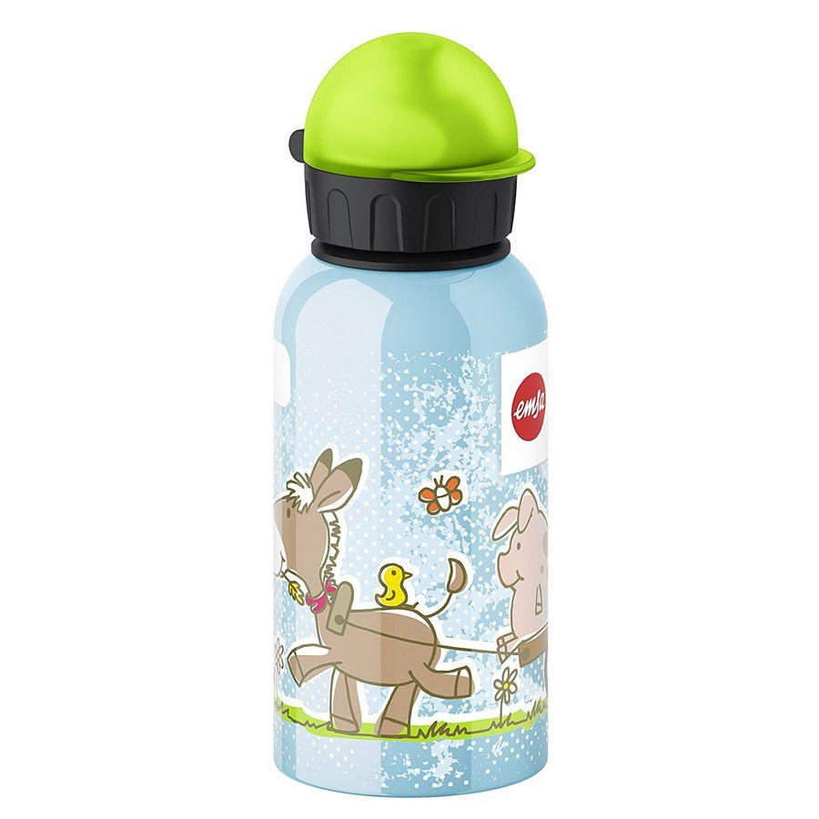 Фляга EMSA Kids Animal Farm 514397, 0.4л, голубой [3100514397]