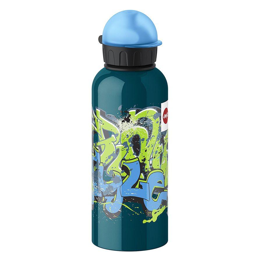 Фляга EMSA Kids Graffiti 514405, 0.6л, темно-зеленый [3100514405]
