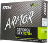 Видеокарта MSI nVidia  GeForce GTX 1070Ti ,  GeForce GTX 1070 Ti ARMOR 8G,  8Гб, GDDR5, Ret вид 7