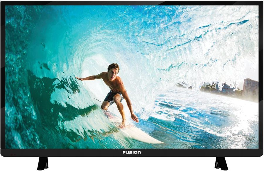 LED телевизор FUSION FLTV-30B100 R, 28, HD READY (720p), черный мобильный телефон philips xenium e560 black