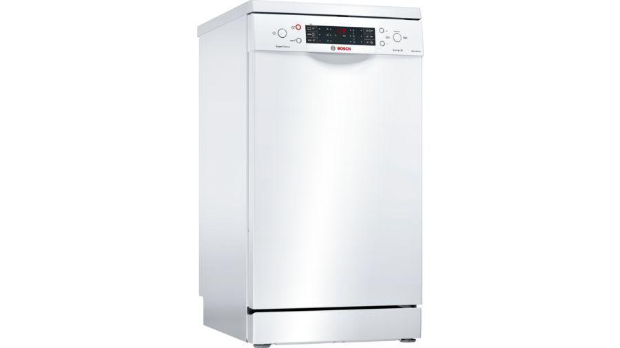 Посудомоечная машина BOSCH SPS66XW11R,  узкая, белая