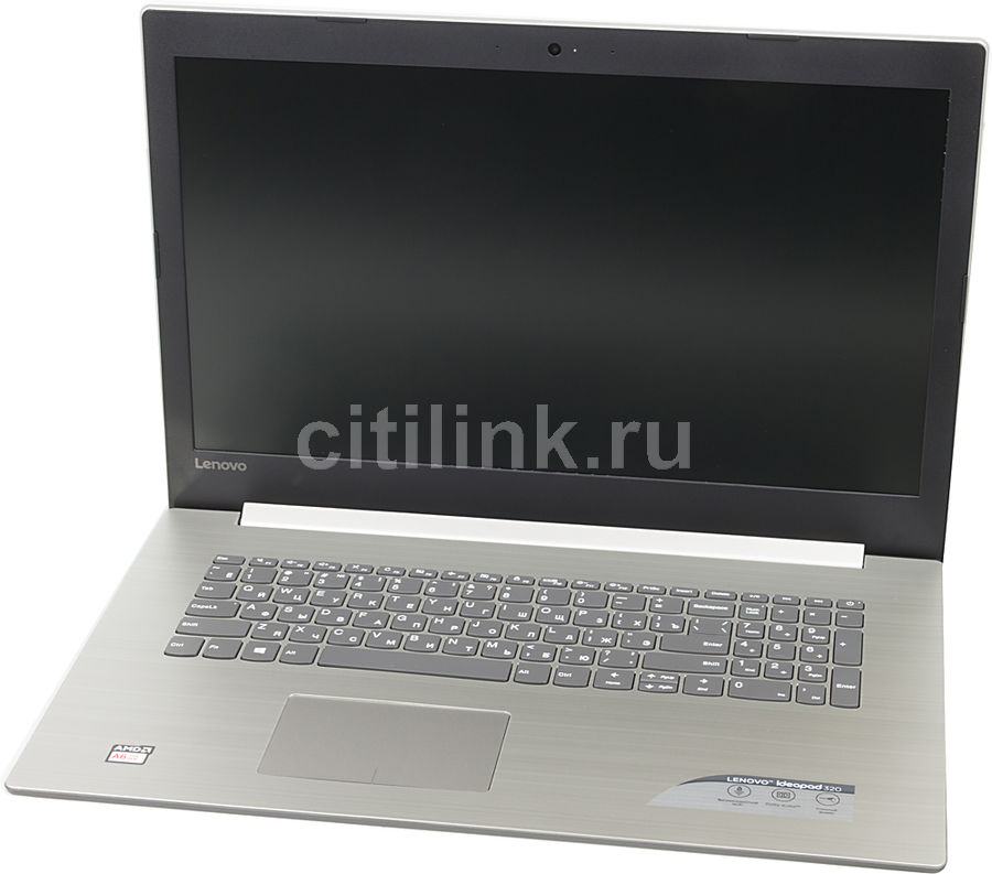 Ноутбук LENOVO IdeaPad 320-17AST, 17.3, AMD A6 9220 2.5ГГц, 4Гб, 500Гб, nVidia GeForce R520M - 2048 Мб, DVD-RW, Windows 10, 80XW002WRK, серыйНоутбуки<br>экран: 17.3;  разрешение экрана: 1600х900; процессор: AMD A6 9220; частота: 2.5 ГГц (2.9 ГГц, в режиме Turbo); память: 4096 Мб, DDR4, 2133 МГц; HDD: 500 Гб, 5400 об/мин; nVidia GeForce R520M - 2048 Мб; DVD-RW; WiFi;  Bluetooth; HDMI; WEB-камера; Windows 10<br><br>Линейка: IdeaPad